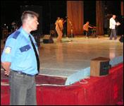 Меры безопасности на концерте российской эстрады были приняты серьезные