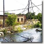 Речка Салар в районе Тезиковки. Фото 2006 г.