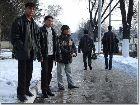 Современные ташкентские студенты