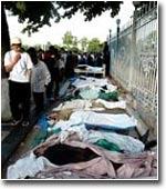 Спустя восемь месяцев после андижанских событий списки погибших до сих пор официально не опубликованы