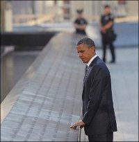 США почтили память погибших в результате терактов 11 сентября 2001 года. В Нью-Йорке открыт мемориал