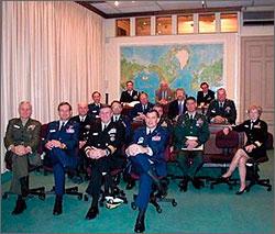 Семнадцать американских генералов и их осенний марафон