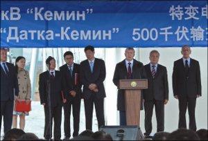 Кыргызстан: Новая ЛЭП, скрепившая страну