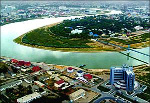Казахстан-Россия: Загрязнение и обмеление трансграничной реки Урал угрожает Каспийскому морю
