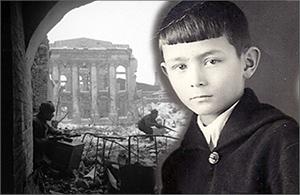 Военный Сталинград глазами ребенка: «Греясь на солнце, я часто наблюдал воздушные бои»