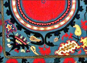 Эльмира Гюль. Вышивка Узбекистана: скрытый смысл сакральных текстов
