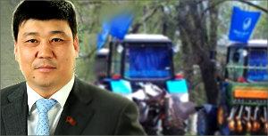 К выборам президента Кыргызстана. Бакыт Торобаев: Комбайны, лампочки и обещания