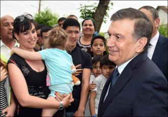 Узбекистан: «Махалля ждёт президента!»