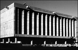 Архитектурный брутализм в Центральной Азии