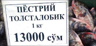 Толстолобик не послушался. Удалось ли властям Ташкента остановить рост цен на городских рынках