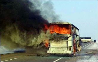 Выхода не было. Что известно о сгоревшем в Казахстане автобусе