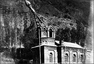 Но когда-то мы жили в горах... На Памире разрушается православная церковь, построенная больше века назад