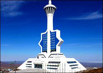 Горячий и почти белый. Столица Туркмении перешагнула исторический рубеж