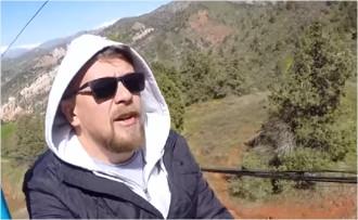 Проект видеоблогера Дениса Говорухина «Города Побродимы». Путешествие в Чимган, или лучше гор могут быть только горы