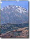 В горных районах Узбекистана необычно рано выпал первый снег